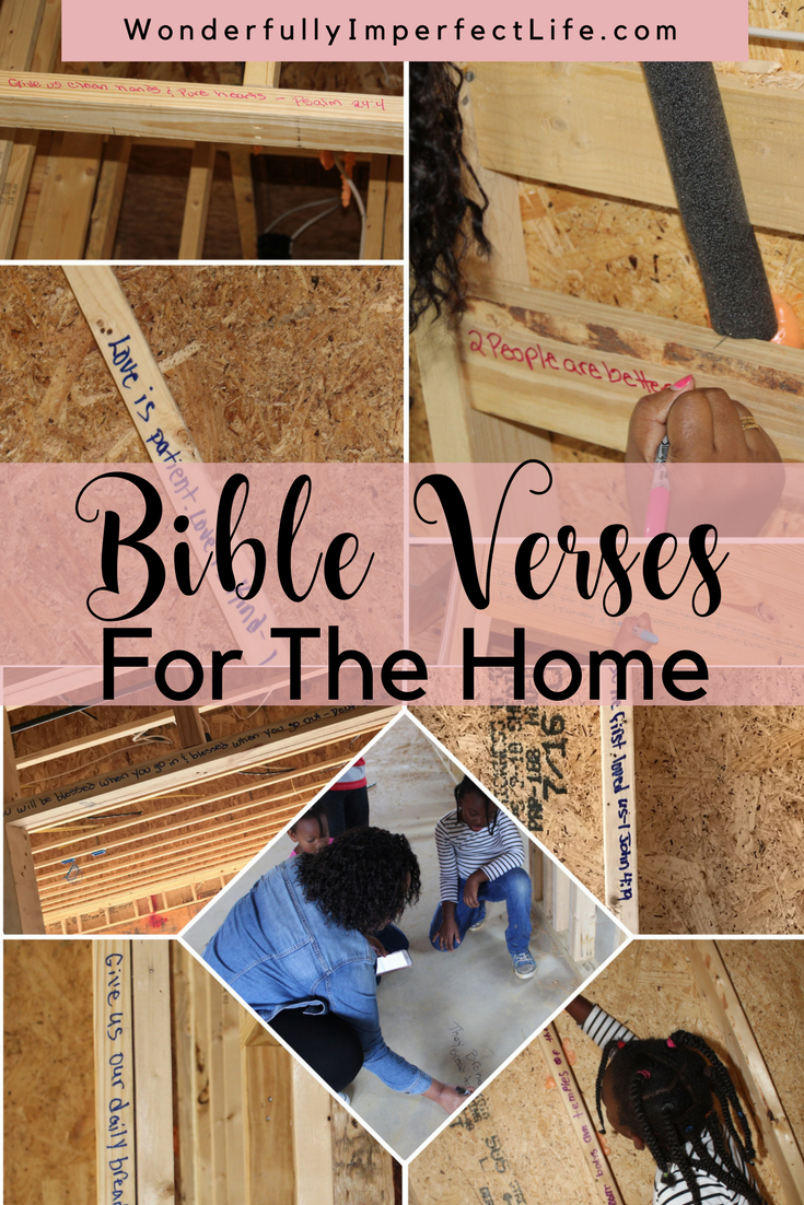 Beautiful Bible Verses For The Home Wonderfully Imperfect Life